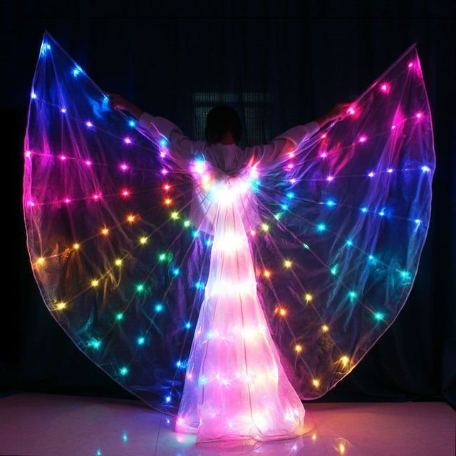 """Produced by Changsha Tianchuang Stage Costumes Co.,Ltd alma@vsledclothes.com // skype:alma.1211// WhatsApp: 86-13975826017    The most professional LED costume manufacturer in China.    Notice: Tianchuang's all costumes are made of Tianchuang patented LED strip or full color fiber optic. Not common LED strip in the market or traditional EL wire.    Most important: Tianchuang wireless DMX512 control system has absolute advantage. Super synchronously, no time error."""