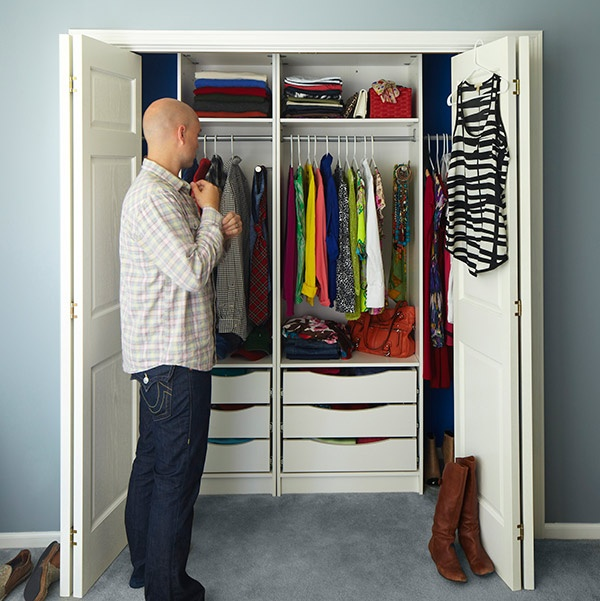 Room For Two Shared Bedroom Ideas: How To Share The Closet With Your Significant Other