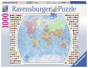 The 25 best ravensburger puzzle ideas on pinterest jigsaw ravensburger political world map jigsaw puzzle piece puzzle measures x puzzles are fun on your own or with family and friends relax from your busy life gumiabroncs Image collections