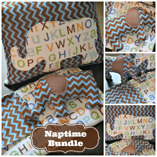 How To Sew Animal Pillows : Naptime Bundle from Making the World Cuter. Sew a blanket, stuffed animal and pillow from 2 ...