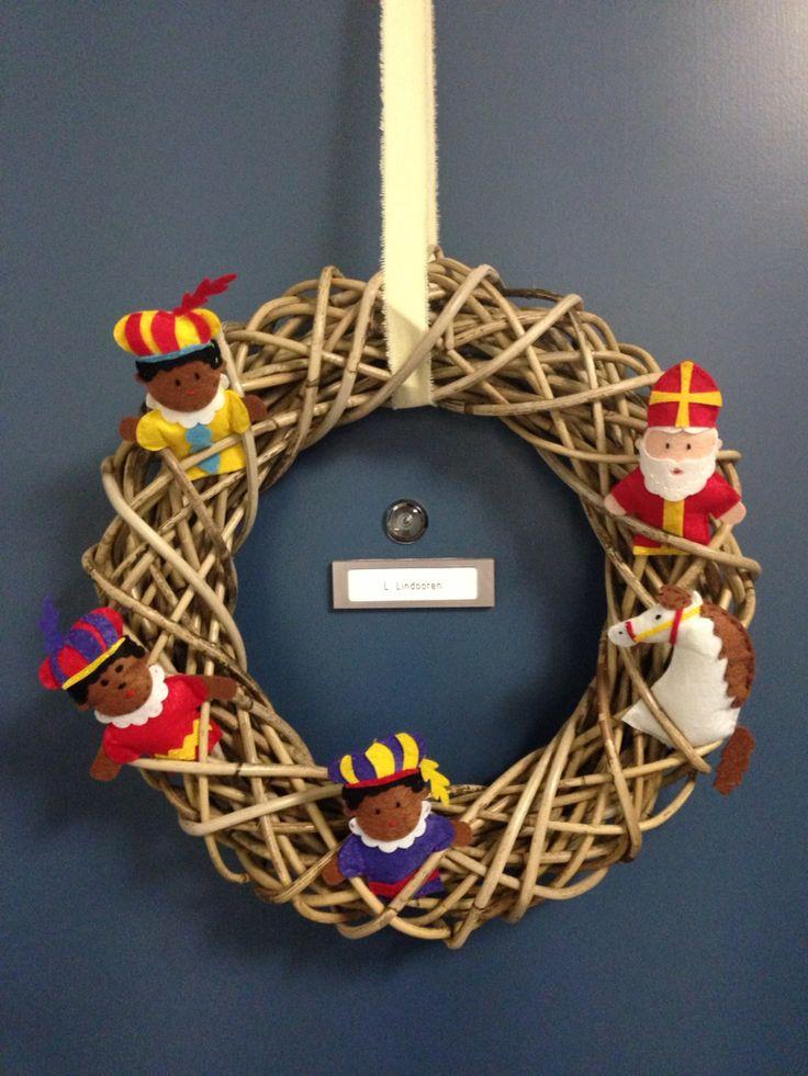 Deurkrans Sinterklaas
