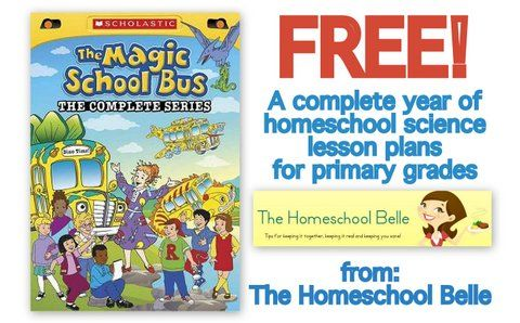 The Homeschool Belle: MSB Science Plans 34 week lesson plans based on the Magic School Bus DVD's