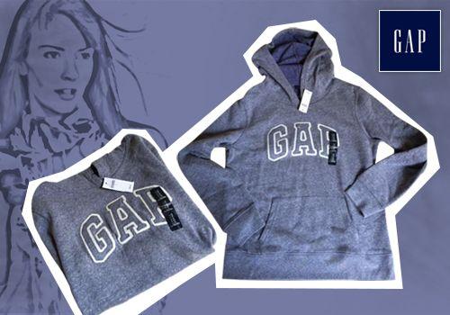 Φούτερ με κουκούλα της Gap για τέλειους συνδυασμούς με τζην ή φόρμες! από 55,00€ Μόνο 34,00€