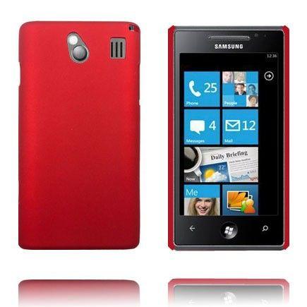 Hard Shell (Rød) Samsung Omnia 7 Deksel