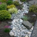 We so need to re-do the dry stream bed from the driveway to the pond. This is just plain gorgeous.