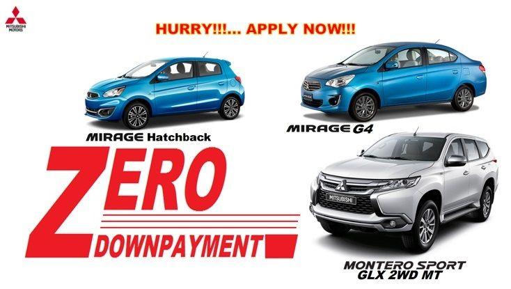 Mitsubishi Zero Dp Plans Mitsubishi Cars Car Search Best Car Deals