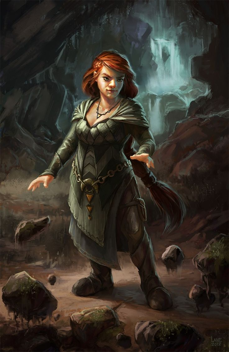 ... Picture (2d, fantasy, character, illustration, magic, dwarf, cave
