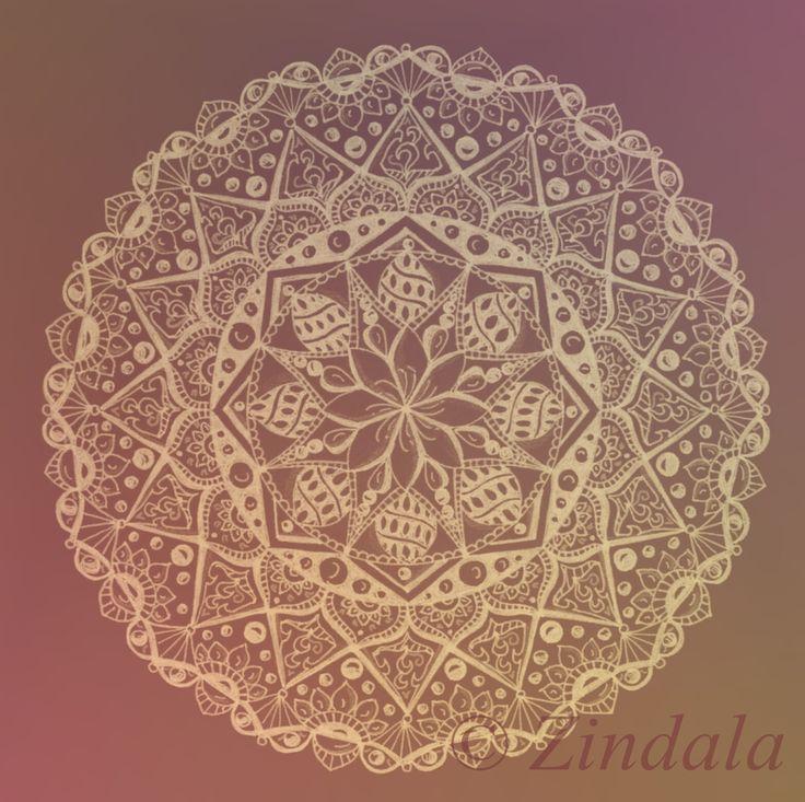 zentangle mandala design Zindala