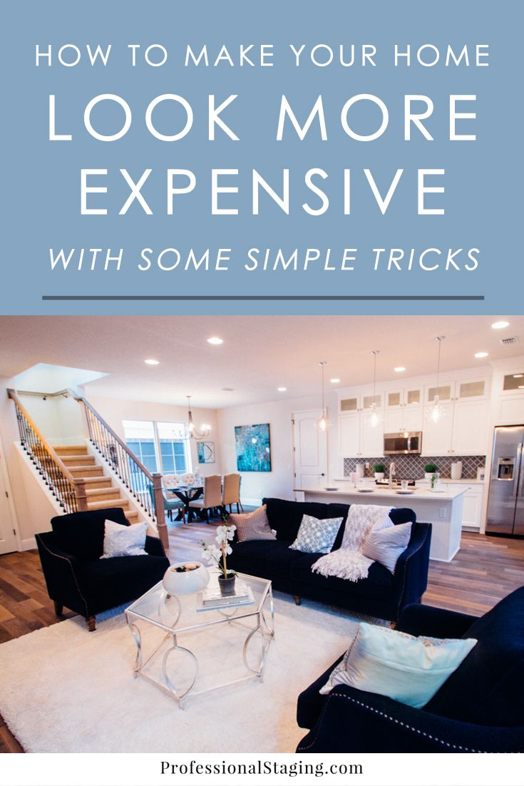 Designer secrets to making your home look more expensive without spending a lot