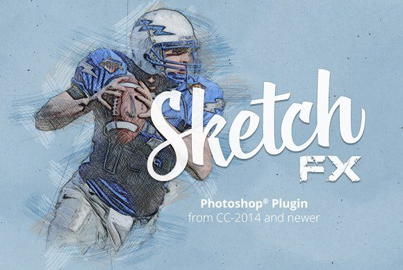 Sketch Fx Photo Effect Plugin Photoshop Plugins Photoshop Add