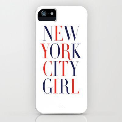 New York City Girl iPhone & iPod Case