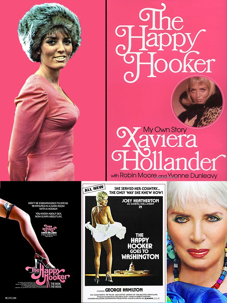 Xaviera Hollander (b. June 15, 1943) is a former call girl & madam, known for her best-seller The Happy Hooker (1971). In 1968 she left her job as the secretary of the Dutch consulate in Manhattan to become a call girl. A year later she opened her own brothel & soon became NYC's leading madam. In 1971 she was arrested for prostitution & forced to leave the U.S. Lynn Redgrave, Joey Heatherton & Martine Beswick have played her on screen. Today she runs 2 bed & breakfast inns (Amsterdam…