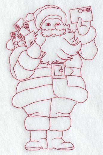 Letters to Santa (Redwork)