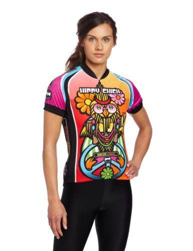 World Jerseys Women's Hippy Chick Cycling Jersey - http://ridingjerseys.com/world-jerseys-womens-hippy-chick-cycling-jersey/