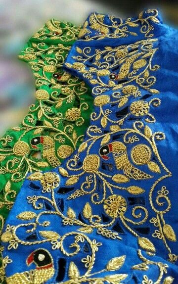 Wire work blouses