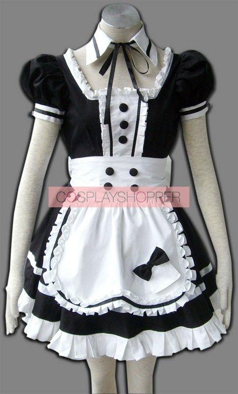Princess Of Dark Cosplay Maid Costume