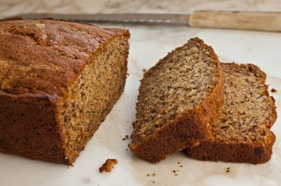 Chai banana bread; recipe says eat warm but  I found it to be better the 2nd and 3rd days.