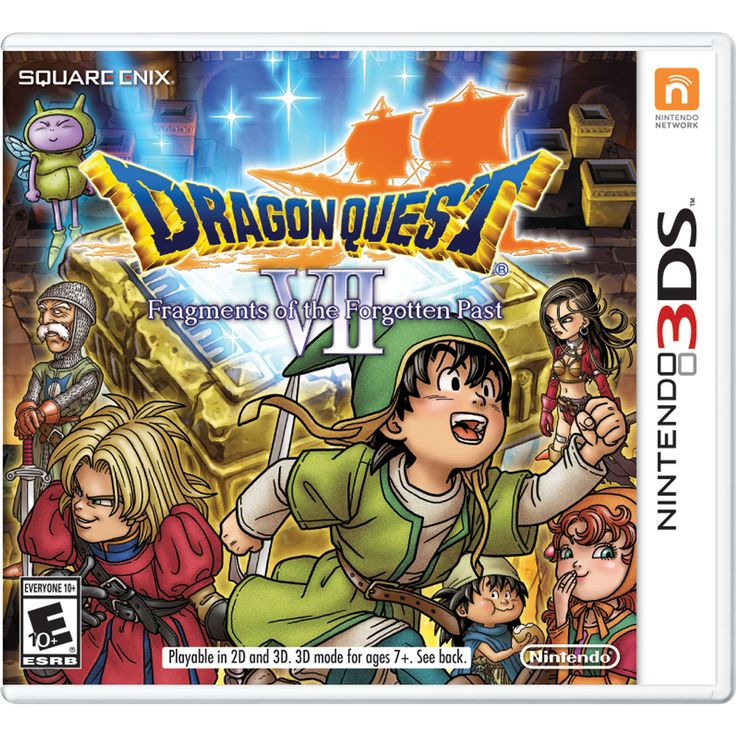 Dragon Quest VII: Fragments of the Forgotten Past (3DS) : Nintendo 3DS, 3DS XL & 2DS Games - Best Buy Canada