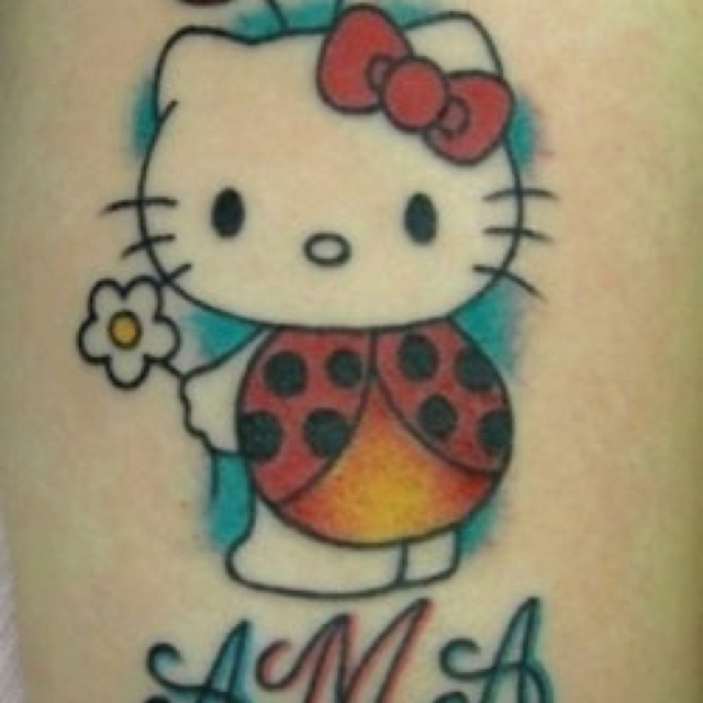 17 Best images about Hello kitty tat on Pinterest | Day of ...