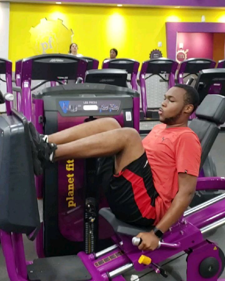 This Dude Is So Determine To Get Better And For That I Say More Power To You Brotha Planet Fitness Workout Train Hard Fitness Lifestyle