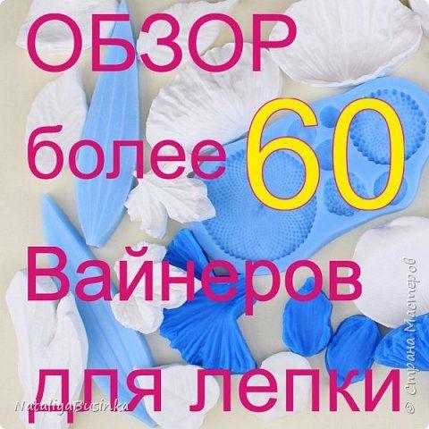 Обзор более 60 вайнеров для лепки цветов из холодного фарфора, пластики или кондитерской мастики
