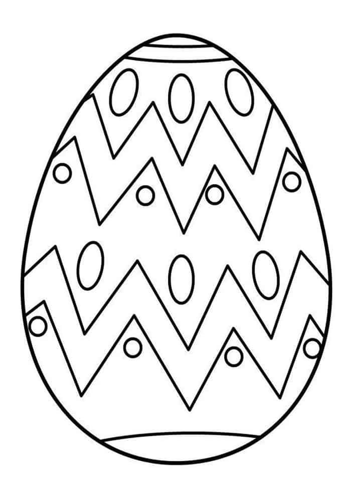 Easter Egg Coloring Pages Printable 1 Coloring Easter Eggs Coloring Eggs Easter Coloring Pages