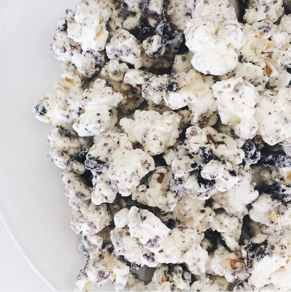But Oreo popcorn is THE GREATEST SNACK.