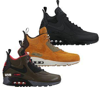 Nike Air Max 90 Sneakerboot (Zima 2015) - Ilustracje