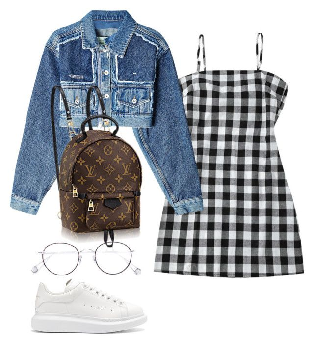 """""""Untitled #2034"""" by vogueandmanolos ❤ liked on Polyvore featuring Off-White, Alexander McQueen and Ahlem"""