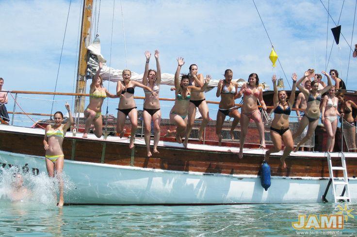 Abifahrt- Siofok-partyboot-ausflug