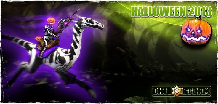 Halloween at Dino Storm (DinoStorm.com)