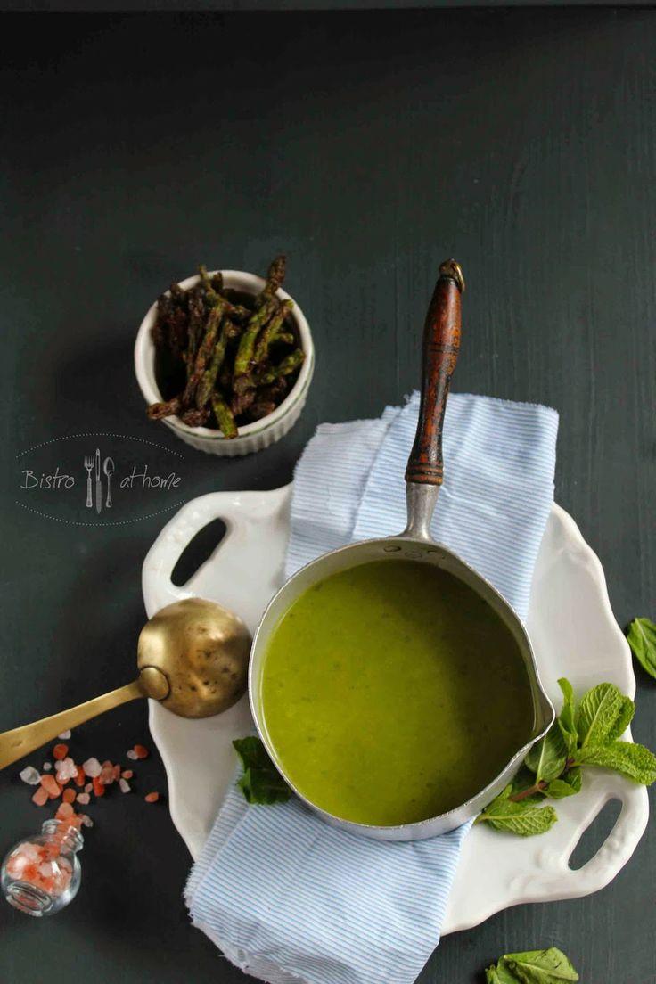 Asparagus cream soup  http://bistrohome.blogspot.hu/2014/04/sparga-spenot-kremleves-mentaval.html