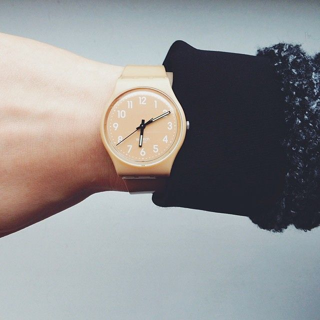 #Swatch: Beige Vsco, Svetavok Svetavok, Watches Beige, Living Forever, Fashion Living, Swatch Watches, Instagram Photo