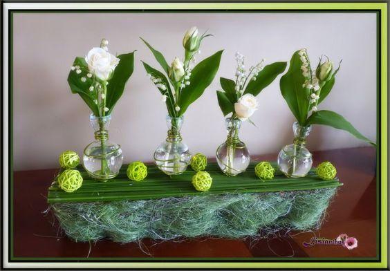 Image - MUGUET - Art Floral - Bouquet- créations florales de... - Skyrock.com