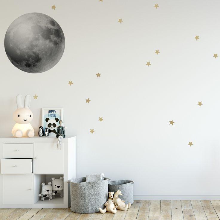 księżyc do naklejenia na ścianę