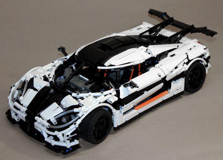 Lego Technic Koenigsegg One:1