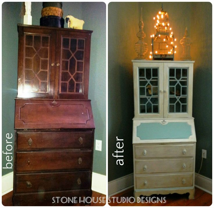 furniture make over with Annie Sloan Chalk Paint.