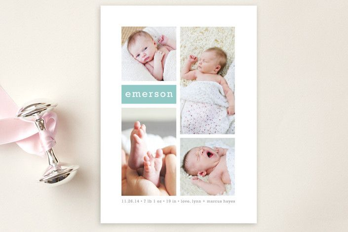 Gallery Birth Announcement Postcards by Susan Asbi... | Minted