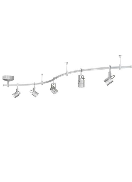 Monorail 5-Head Focus Rail Kit - Tech Lighting