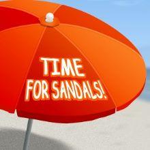 Got your beach umbrella, don't forget your sunscreen! Get this text template from ImageChef: http://www.imagechef.com/t/ulln/Beach-Umbrella #umbrella #sandals #beach #text #imagechef