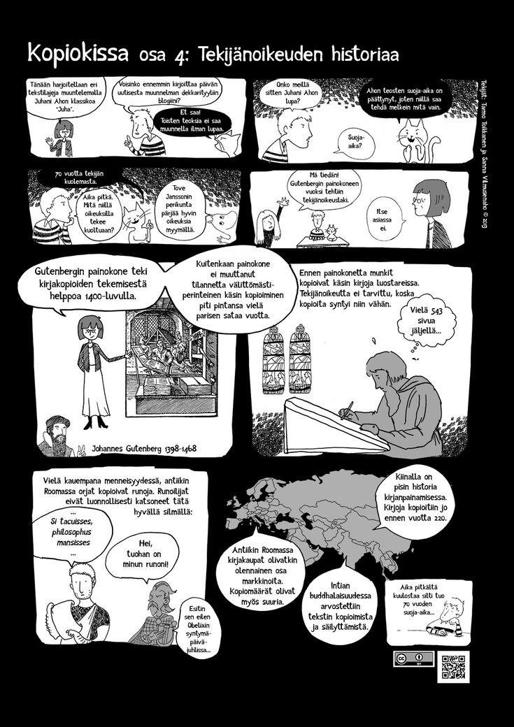 Kopiokissa osa 4. Tekijänoikeuden historiaa.