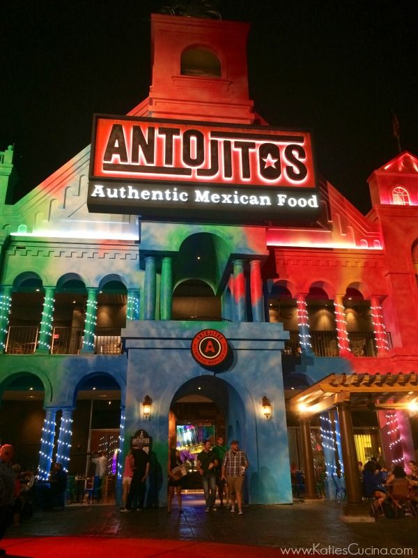 Restaurant review on Antojitos Authentic Mexican Food restaurant at Universal Orlando's CityWalk! A must to visit if you are vacationing in Orlando, Florida!