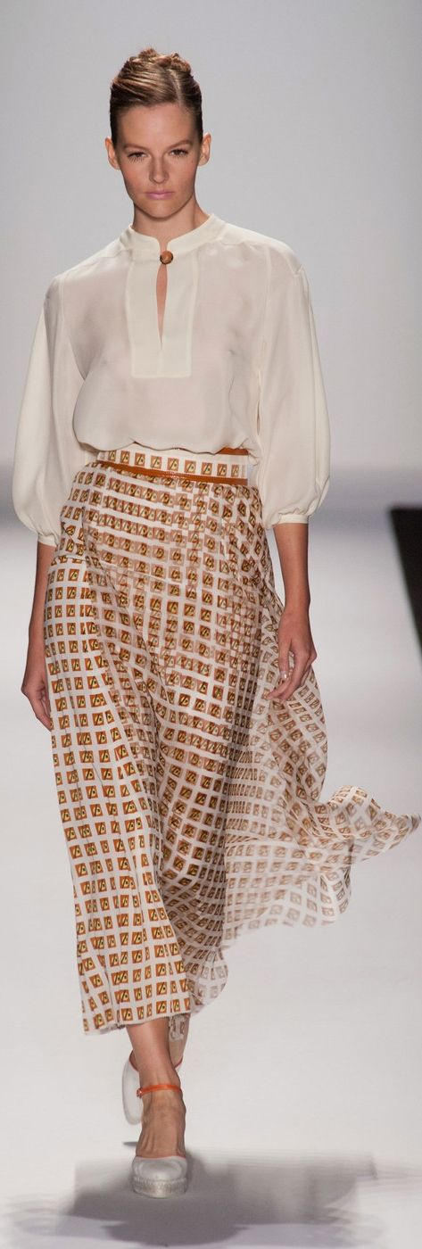 Carolina Herrera at NYFW Spring 2014