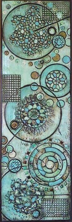 Aquamarine by Brenda Patel-sold