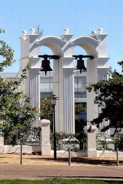 Slave Bells - opposite the Braak plain in Stellenbosch. #slavebells #Stellenbosch