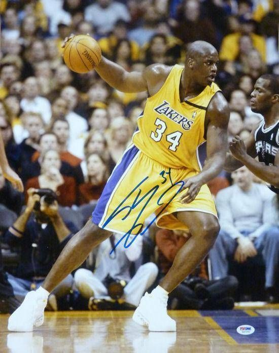 9f027568eb1 SHAQUILLE O'NEAL SIGNED & FRAMED 16X20 JSA COA LOS ANGELES LAKERS SHAQ  AUTOGRAPH