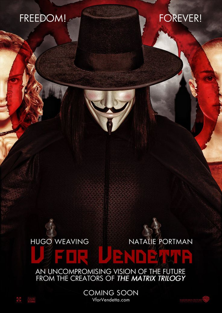 V for Vendetta, English help.?