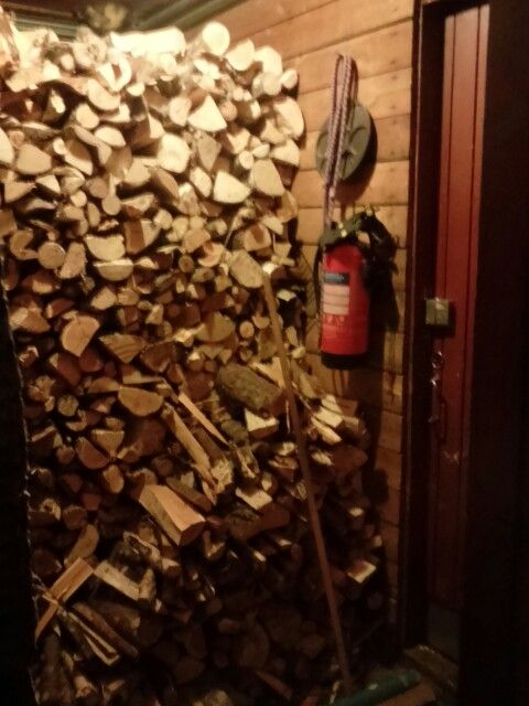 Keep warm! Fire wood for winter days.
