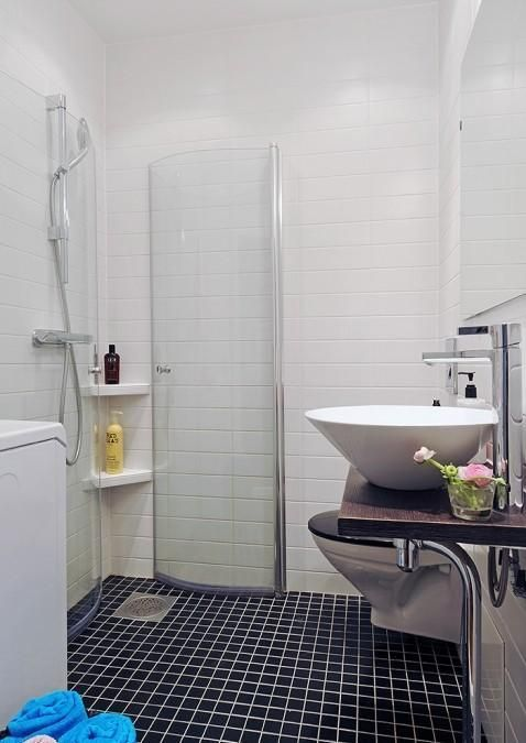 space saving shower small everything small pinterest