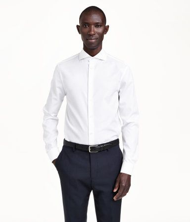 254 best h m 39 s classic men images on pinterest h m men for Crisp white cotton shirt